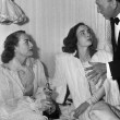 3/7/46. At home on Oscar night with Ann Blyth and Mike Curtiz.