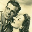'Daisy Kenyon' publicity, with Dana Andrews.