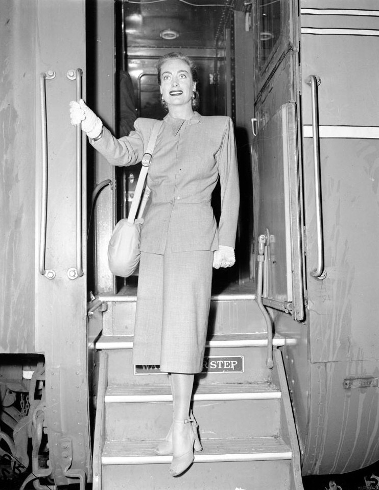 October 1947, on the 'Century Limited' from Chicago to NYC.