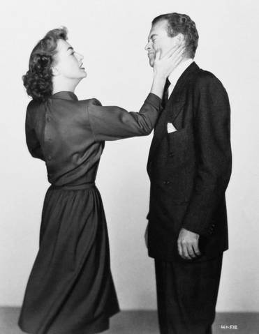 1947. 'Possessed.' With Van Heflin. (Thanks to Bryan Johnson.)