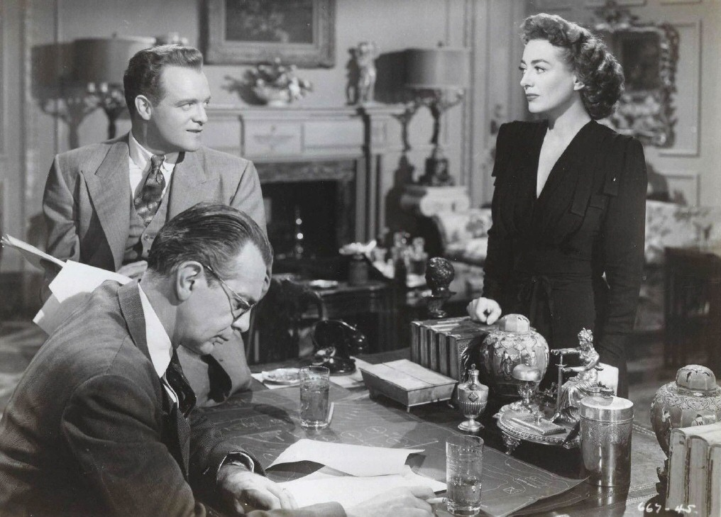 1947. 'Possessed.' With Raymond Massey and Van Heflin.