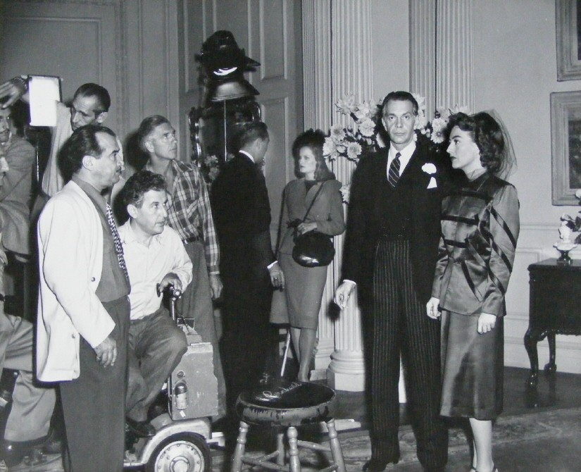 1947. On the set of 'Possessed.'