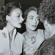 August 1949. With Florence Marly, left, and Constance Collier. Shot by Nat Dallinger.