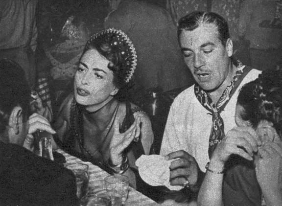 1949. With Cesar Romero.