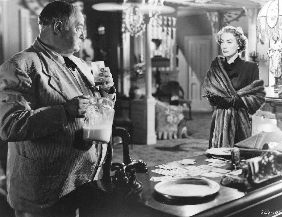 1949. 'Flamingo Road.' With Sydney Greenstreet.