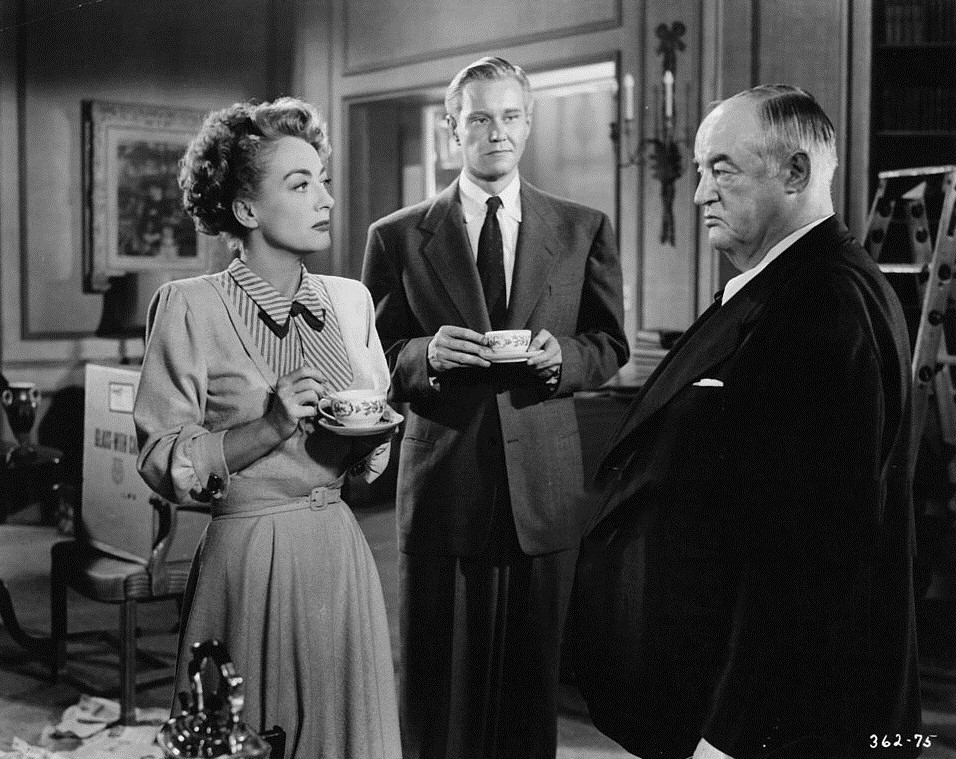 1949. 'Flamingo Road.' With David Brian and Sydney Greenstreet.