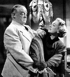 More suffering in fur: 1949's 'Flamingo Road,' with Sydney Greenstreet.
