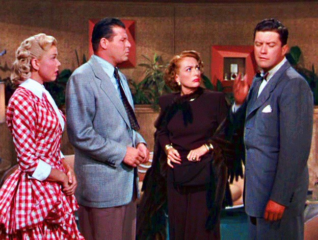 1949. 'It's a Great Feeling.' With Doris Day, Jack Carson, Dennis Morgan.
