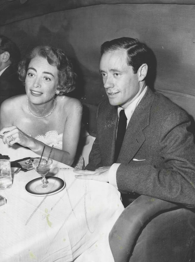 1949. At Mocambo with Mel Ferrer.