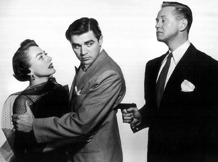 1950. 'The Damned Don't Cry.' With Steve Cochran and David Brian.