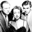 1950. 'The Damned Don't Cry.' Publicity shot with David Brian, left, and Steve Cochran.