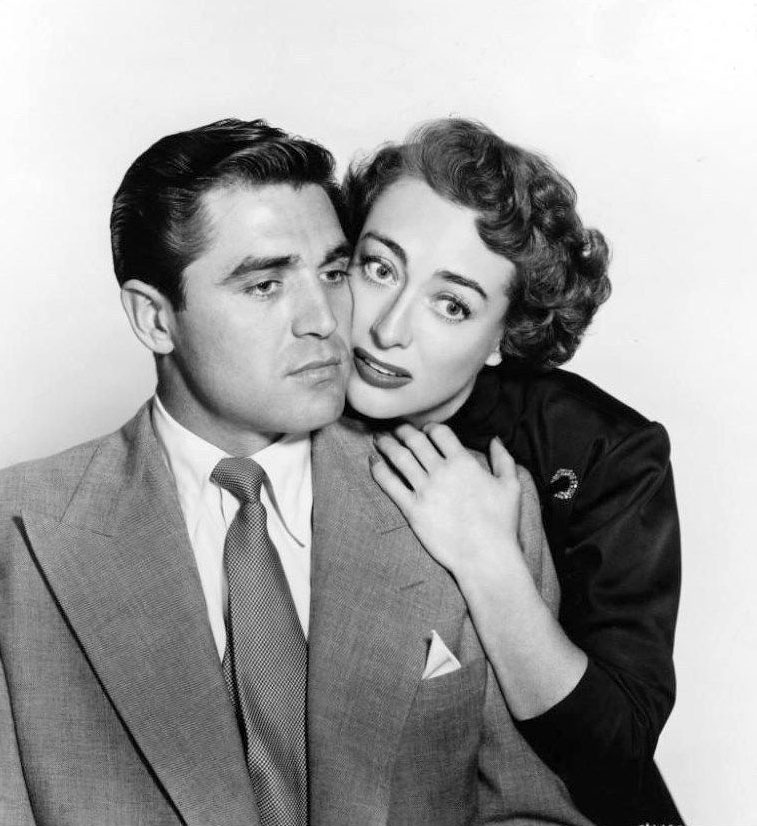 1950. 'The Damned Don't Cry.' With Steve Cochran.