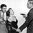 1950. 'Damned Don't Cry.' With Steve Cochran, left, and David Brian.