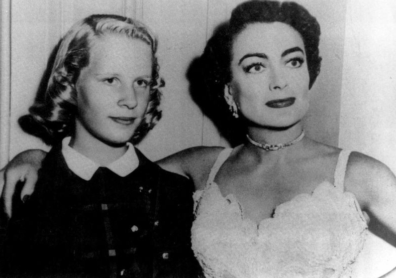 1952. With Christina on the set of 'This Woman Is Dangerous.'