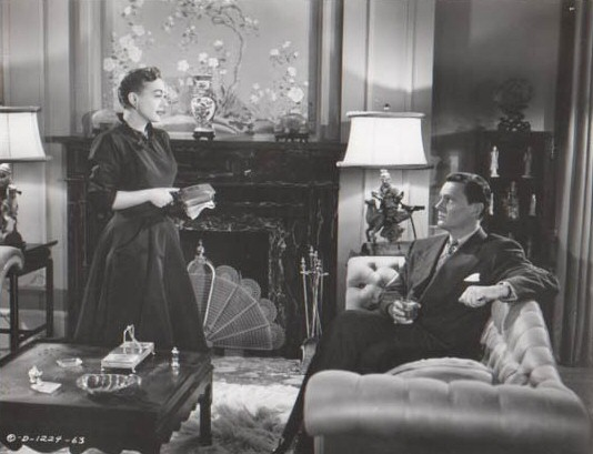 1950. 'Harriet Craig.' With Wendell Corey.