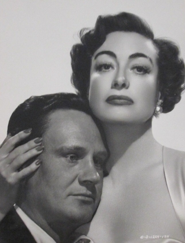 1950. 'Harriet Craig' publicity with Wendell Corey.