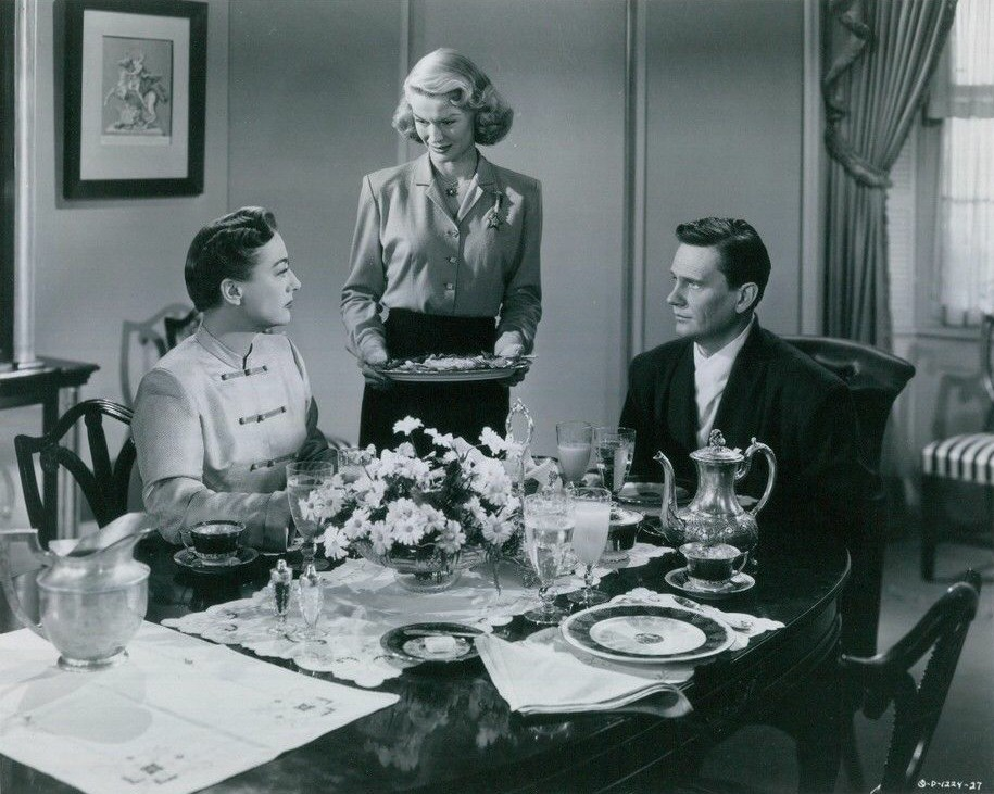 1952. 'Harriet Craig.' With K.T. Stevens and Wendell Corey.