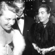 1954. With Ann Sheridan and George Nader.