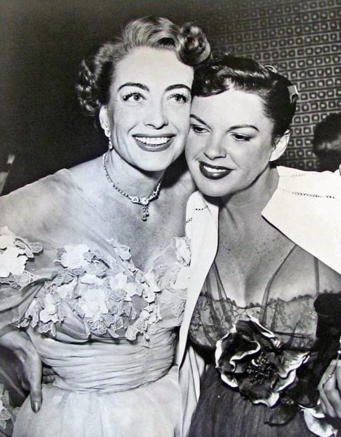 1952. With Judy Garland at Romanoff's.
