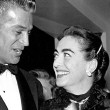 1954. With George Nader and Johnny Grant.