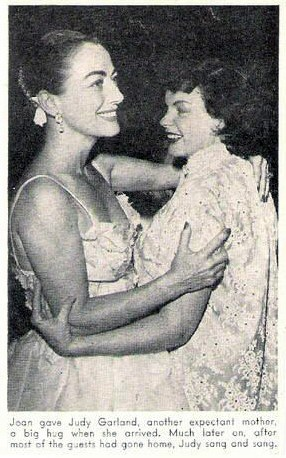 September 1952, with Judy Garland.