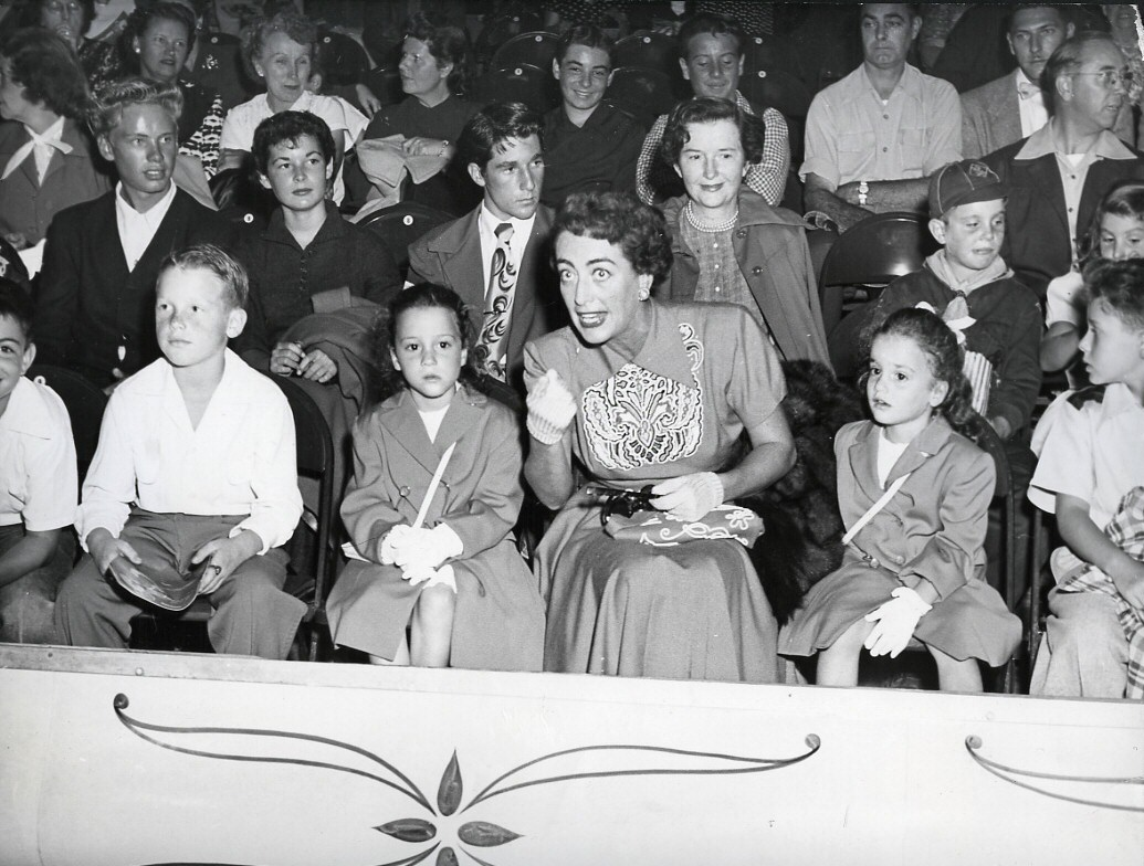 1952. At the Los Angeles Ice Capades.