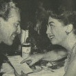 1953. With Cesar Romero at Romanoff's after the 'Call Me Madam' premiere.