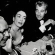 1954. With Al Steele, left, and Cesar Romero.