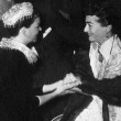 9/29/54. At the 'Star Is Born' premiere with Judy Garland.