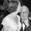 4/29/51. With Ed Wynn and unknown woman at the Stork Club.