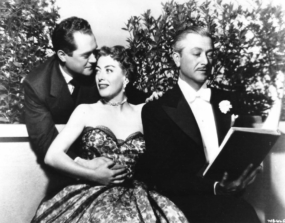 1951. 'Goodbye, My Fancy.' With Frank Lovejoy and Robert Young.