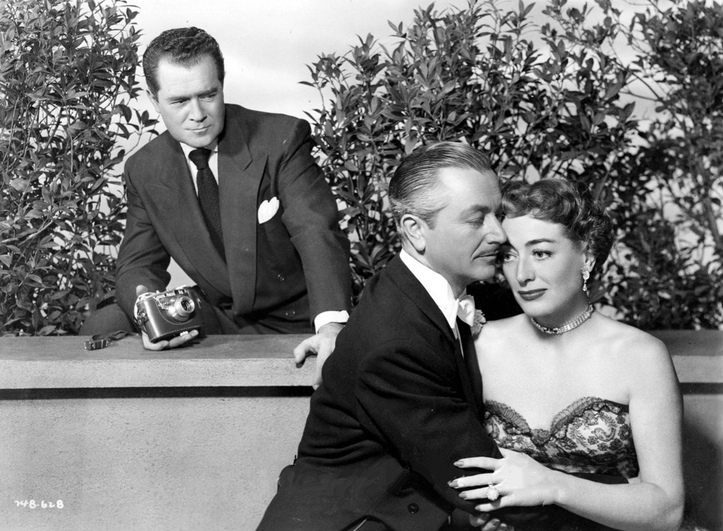 1951. 'Goodbye, My Fancy.' With Frank Lovejoy, top, and Robert Young.