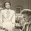 1951. 'Goodbye My Fancy.' With Eve Arden. And a dress that inexplicably stays unbuttoned for over 5 minutes of the film!