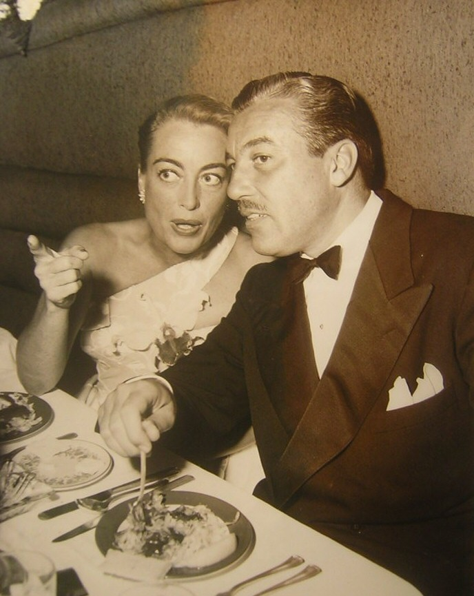 October 1951. With Cesar Romero at the Mocambo.