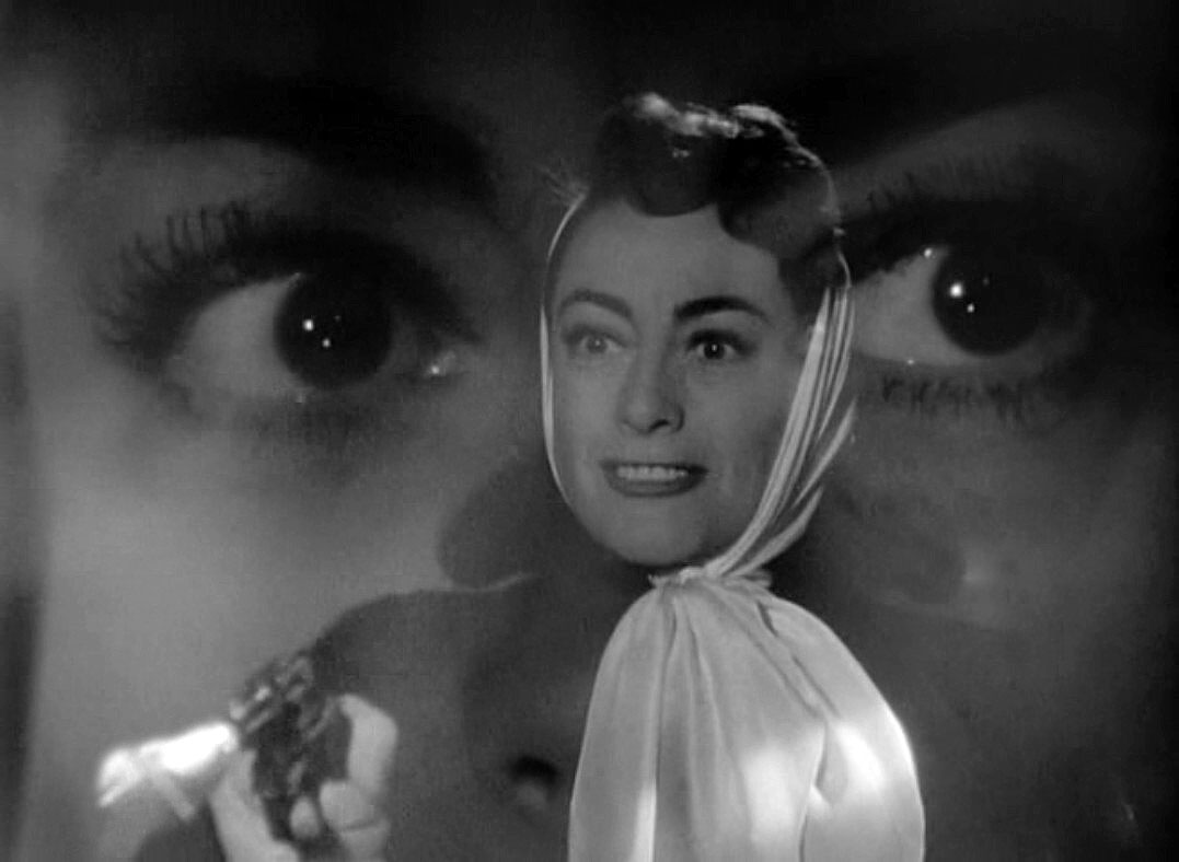 1952. 'Sudden Fear' screen shot.