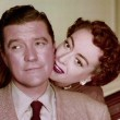 With Dennis Morgan.