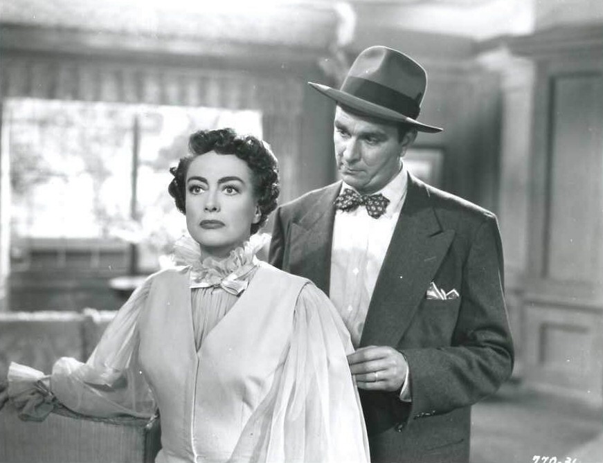 1952. 'This Woman Is Dangerous' film still.