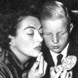 October 15, 1953. Joan and Chris celebrate his 10th birthday.
