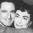 Circa 1954. With Joan Crawford Fan Club President Dore Freeman.