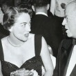 March 1953 with Paramount head Frank Freeman and wife at a H'wood awards dinner.