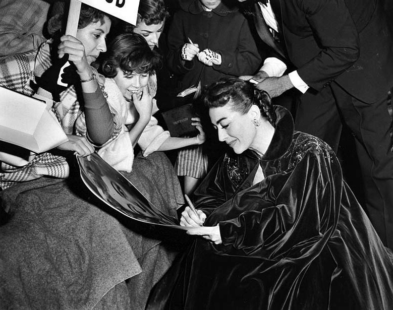 November 1953. 'Torch Song' premiere.