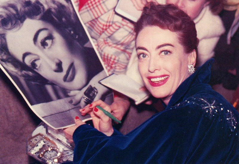 November 1953. At the 'Torch Song' premiere.