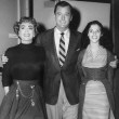 With Gig Young and Pier Angeli.