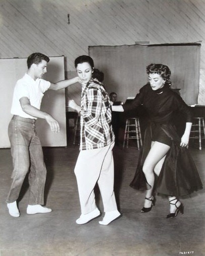 1953. 'Torch Song.' With dancers Mark Wilder and Judy Landon.