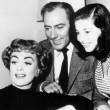 With Michael Wilding and Pier Angeli.