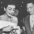 August 1954 at the premiere of 'Rear Window.'