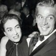 1954. With George Nader.