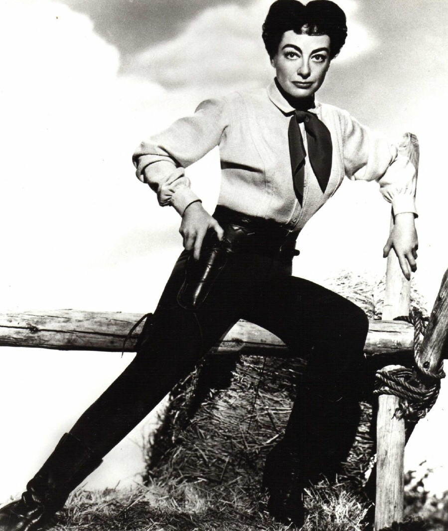 1954. 'Johnny Guitar' publicity.