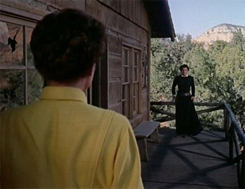 1954. 'Johnny Guitar.' With Mercedes McCambridge.
