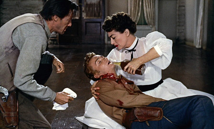 1954. 'Johnny Guitar.' With John Carradine and Ben Cooper.